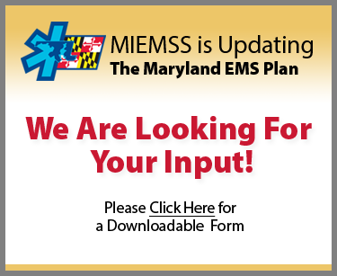 Maryland EMS Plan 2020 Comments